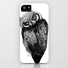 Scops Owl  iPhone Case