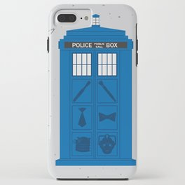 The Tardis Got Some Ink iPhone Case