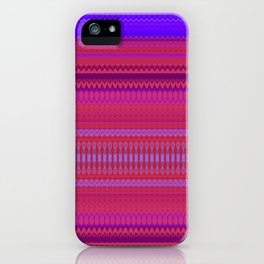 Red & Purple XIII iPhone Case