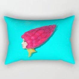 Red fairy Rectangular Pillow