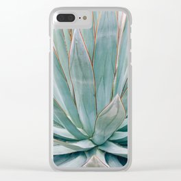 Minimalist Agave Clear iPhone Case