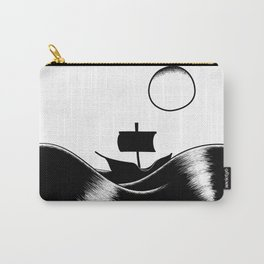 A Boat on the Sea Carry-All Pouch