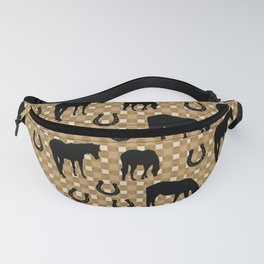 Horse and Shoe Fanny Pack