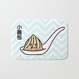 Xiaolongbao Chinese Soup Dumpling Dim Sum Bun spoon Bath Mat