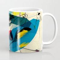 kandinsky Mugs featuring 041112 by Alvaro Tapia Hidalgo