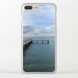 The Old Pier Clear iPhone Case