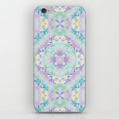 Gentle colors of the ornament . Turquoise -pink . iPhone & iPod Skin