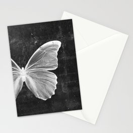 Butterfly in Black Stationery Cards