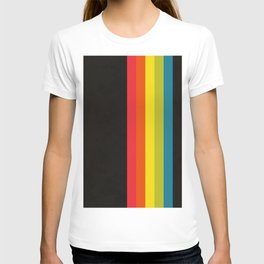 Retro Camera Color Palette T-shirt