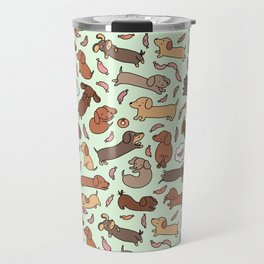 Wiener Dog Wonderland Travel Mug