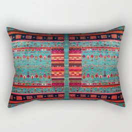 Anthropologie Ortiental Traditional Moroccan Style Artwork Rectangular Pillow