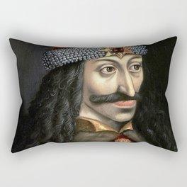 Count Dracula portrait Rectangular Pillow