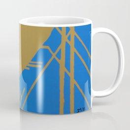 Heart Deco: Gaslight Blues Coffee Mug