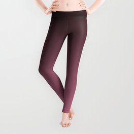 Black and pink. Gradient.  Ombre. Leggings