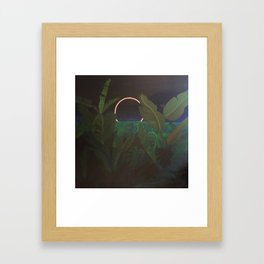 Jungle Eclipse Framed Art Print
