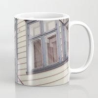 norway Mugs featuring Norway II by Cynthia del Rio