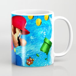 Super Mario Van Gogh style Coffee Mug