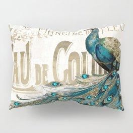 Peacock Jewels Pillow Sham