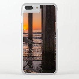 Surf's Up Clear iPhone Case