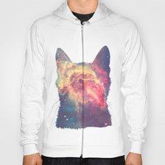 space in cat Hoody
