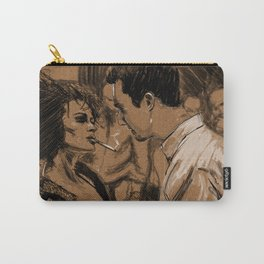 Marla & Tyler doodle Carry-All Pouch