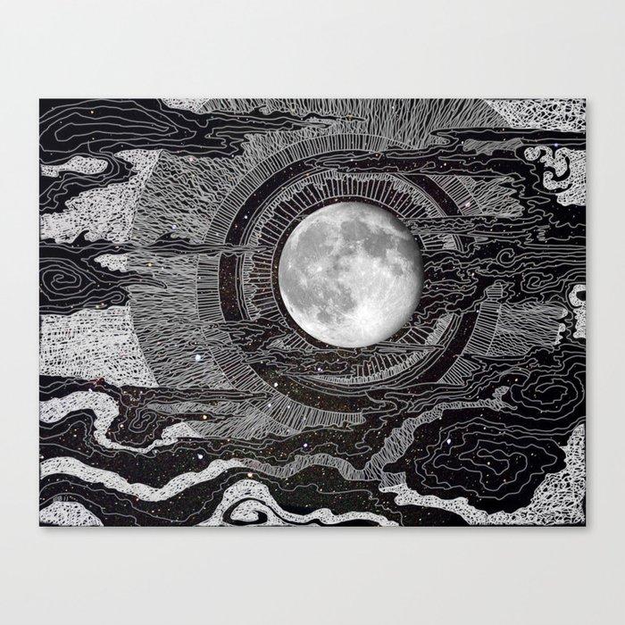 Moon Glow Leinwanddruck