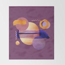 Boho Universe V4 Throw Blanket