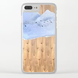 The Silver Lining Clear iPhone Case