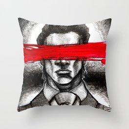 Mask Of Sanity Throw Pillow