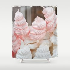 Meringue Shower Curtain
