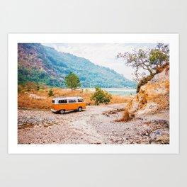 Van Life V Art Print