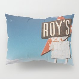 Roy's Retro Motel Pillow Sham