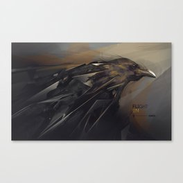 Flight On Canvas Print