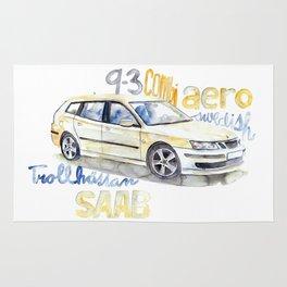 SAAB 9-3 combi AERO Rug