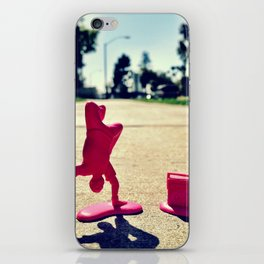 Breakdancing on a sunny day. iPhone Skin