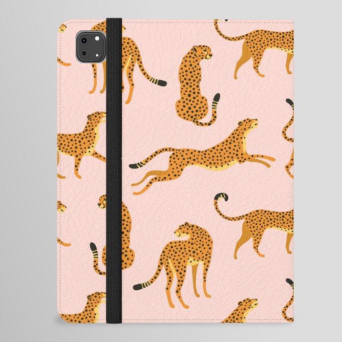 Leopard pattern iPad Folio Case
