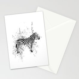 Spotted Zebra Stationery Cards