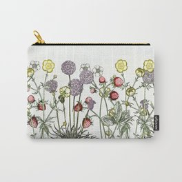 Medley of garden flowers Carry-All Pouch