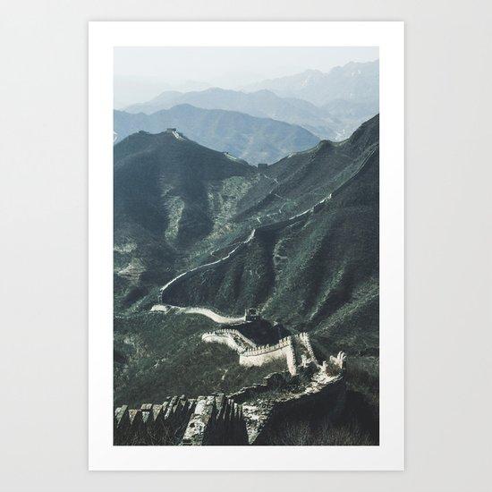 The Great Wall of China I Art Print