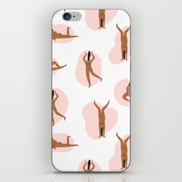 Naked party iPhone Skin