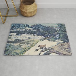 Mountain Lake Trail Rug