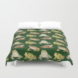 Toads Duvet Cover