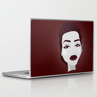 angelina jolie Laptop & iPad Skins featuring ANGELINA JOLIE by Fillipa Lara