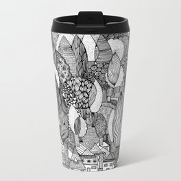 Mysterious Village Metal Travel Mug