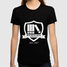 Bookworm University - Inverted T-shirt