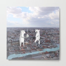Flooded Berlin Metal Print