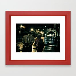 Let's Grow Old Together Framed Art Print
