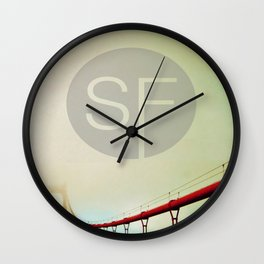 THE BRIDGE Wall Clock