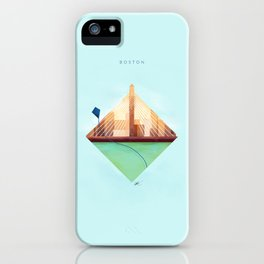 Day 3 - Boston Design Marathon iPhone Case