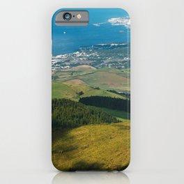 Sao Miguel island iPhone Case